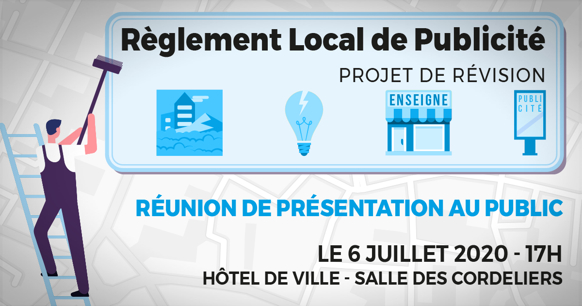 reglement local publicite